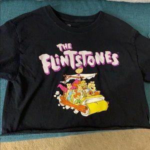 FLINTSTONES CROP TOP